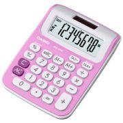 Calculadora de mesa Casio Colorful MS-6NC-PK-S-DH 8 dígitos, Big Display, Rosa