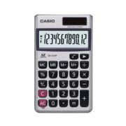 Calculadora de bolso Casio SX-320P-W-DH 8 dígitos, soltar e bateria, Prata