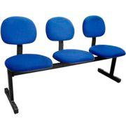 Cadeira LONGARINA DIGITADORA MULTIVISÃO Azul