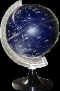 Globo Celeste Libreria CIELO 220V 21cm de diâmetro, base de plástico, constelações e estrelas, Iluminado