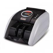 Contadora de Cédulas Xinda Electronic K-5200 220V Conta 1000 cédulas/minuto, detecção cédulas falsas UV