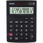 Calculadora de mesa Casio MZ-12S-BK 12 Dígitos, Solar e Bateria, Branca