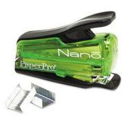 Grampeador compacto de pressão Paperpro Nano capacidade 12 folhas ref.1804 Verde