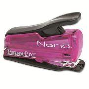 Grampeador compacto de pressão Paperpro Nano capacidade 12 folhas ref.1804 Rosa