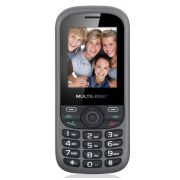 Celular Multilaser UP35 Preto Cinza para 3 chips