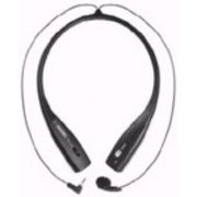 Neck Set Earset FX-70 Fone de Pescoço Plug P1 para Skype, Mensseger, o headset que não estraga o penteado