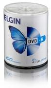 M�dia DVD-R Elgin 4.7 GB/120 min/8 X (Tubo com 100 unidades)