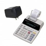 Calculadora Sharp EL1801V_B C/ Conversor Bivolt, 12 dígitos visor e impressora, rolete bicolor