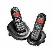 Telefone Sem Fio Elgin TSF4002 C/ 1 Ramal, Identificador de Chamadas, viva voz, despertador, babá eletrônica, até 4 ramais, 9 campainhas, 5 volumes, bloqueio de teclado