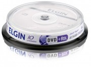 Mídia DVD+R DL Elgin 8.5 GB/240 min/8 X/Dual Layer (Pino com 10 unidades)