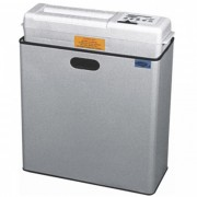 Fragmentadora de Papel Menno FC 260T 127V - Corta 10 folhas em Tiras de 4mm, fenda 255mm, lixeira 49L, Nível de Segurança 02, 150W