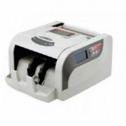 Contadora de C�dulas Menno 860T 110V Conta 1200 notas ou ticket por minuto detec��o c�dulas falsas UV e MG Visor LCD 2 linhas