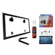 Suporte Brasforma SBRU771 / SBRUB770 COMBO SBRP 758 de parede para TV Plasma/LCD de 10´ à 71´  + suporte Bluray ADVD172 + limpa tela - Garantia de 5 anos