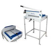 Guilhotina Semi Industrial Master Excentrix STD510 Com Mesa Comp. do Corte: 510 mm, Dim. da Base: 710x700x270, Cap. de Corte: 300 folhas, Peso: 58 k