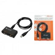 Conversor Comm5 2S-USB - Converte USB para 2 sa�das seriais RS232