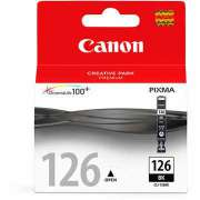 Cartucho de tinta Canon Elgin CLI-126 BK - PIXMA iP4800 PIXMA MG5210 PIXMA MG6110