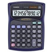Calculadora de Mesa Casio WM-220T S Resistente Água e Poeira calcula hora minuto segundo Solar e bateria
