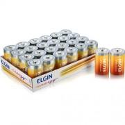 Pilha Elgin D Zinco-Carvão - Bandeja c/24 unidades shrincado de 2 em 2 cod. 82190