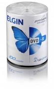M�dia DVD-R Elgin Printable Premium 4.7 GB/120 min/8 X (Tubo com 100 unidades)