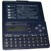 Agenda Eletrônica Casio SF2000 para 130 telefones, visor 12 dígitos