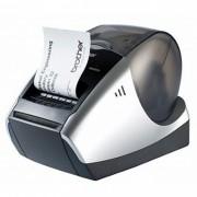 Impressora de Etiquetas Brother QL570 - Impressão de até 300x600 dpi, até 68 etiquetas por min., cabo USB