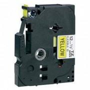 Fita Flexível Brother TZFX-631 - Largura: 12mm, Preto sobre Amarelo, Comprimento: 8m