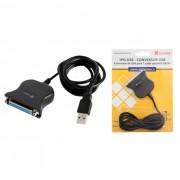 Conversor Comm5 1PG-USB Linha Econômica - Converte USB para 1 saída paralela DB25F