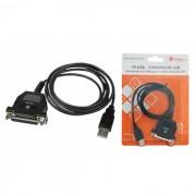 Conversor Comm5 1P-USB - Converte USB para 1 saída paralela LPT