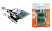 Placa PCI Comm5 4S-PCI - 4 saídas seriais RS232