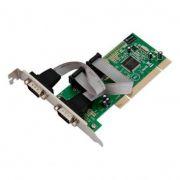 Placa Comm5 1PG-PCI-E Linha Econômica - 1 saída paralela barramento PCI Express