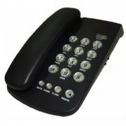 Telefone com fio padrão para mesa ou parede Bratel KX3014