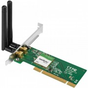 Adaptador Wireless Intelbras WPN302 PCI N 300 Mbps 2 Antenas (Cod: 6083)