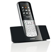 Telefone Sem Fio Gigaset SL400A Ultra moderno, multifuncional, Identificador de Chamadas, viva voz, Secretária Eletrônica, babá eletrônica