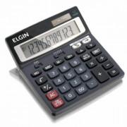 Calculadora de Mesa Elgin MV-4129 12 d�gitos Seletor de arredondamento e decimais, solar e bateria