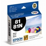 Cartucho de Tinta Preta Hi-Definition Epson Original T081120-AL p/ Stylus Photo R270 / R290 / T50 / TX720WD / SP1410 (Cod: 6488)