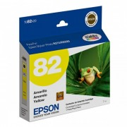 Cartucho de Tinta Amarela Hi-Definition Epson Original T082420-AL p/ Stylus Photo R270 / R290 / T50 / TX720WD (Cod: 6504)