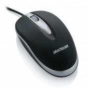 Mini Mouse Óptico Emborrachado USB Multilaser MO089