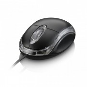 Mouse Multilaser Óptico Classic USB MO007
