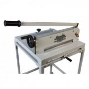 Guilhotina Semi Industrial Excentrix Standard 430 - dimensão da base: 620x640x250mm, para 300 folhas de 75g cada, Peso: 50Kg