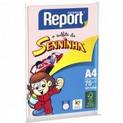 Papel Sulfite Report Seninha Rosa A4 Pacote 100 folhas