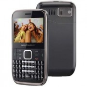 Celular Desbloqueado Multilaser Fast P3155 - Preto e Grafite, Wi-Fi, DualChip, rádio FM, MP3 e MP4