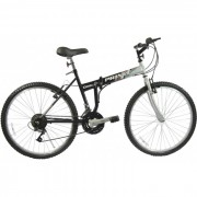 Bicicleta Prince Dobl� Aro 26 - Preto e Prata