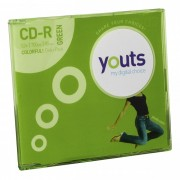 CD-R Youts Slim Colorful Green