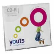 CD-R Youts Slim Printable White