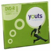 DVD-R Youts Slim Colorful Green
