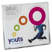 DVD-R Youts Slim Printable White