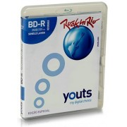 Blu-Ray BD-R Youts 4x 25GB - Estojo Amaray - ED. Rock In Rio