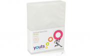 Embalagem para DVD Multidisc (4X) Youts Transparente pack com 3