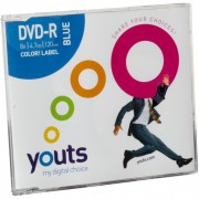 DVD-R Youts Slim Color Label Blue