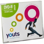 DVD-R Youts Slim Color Label Green
